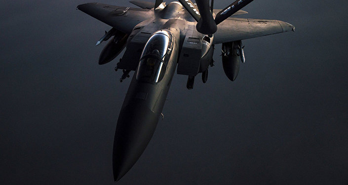 F-15E Strike Eagle. Foto no arhīva