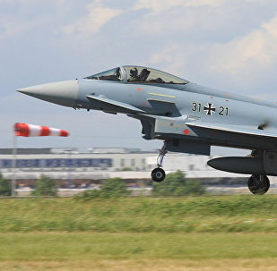 Истребитель Eurofighter немецких ВВС
